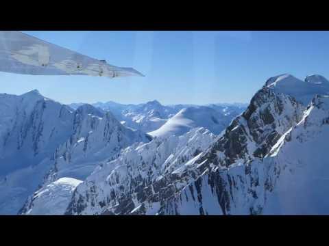 """Flugsafari"" zum Mt. Cook (Neuseeland) 2016"