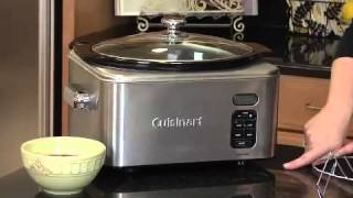Cuisinart 6.5-Quart Programmable Slow Cooker (PSC-650) Demo Video