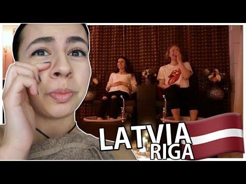 MASSASJE-DATE I LATVIA?! 😳 Vlog