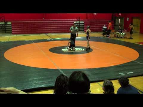 Rahway Middle School Wrestling Defeats  Linden  68  18 Jason Winters 2nd Win