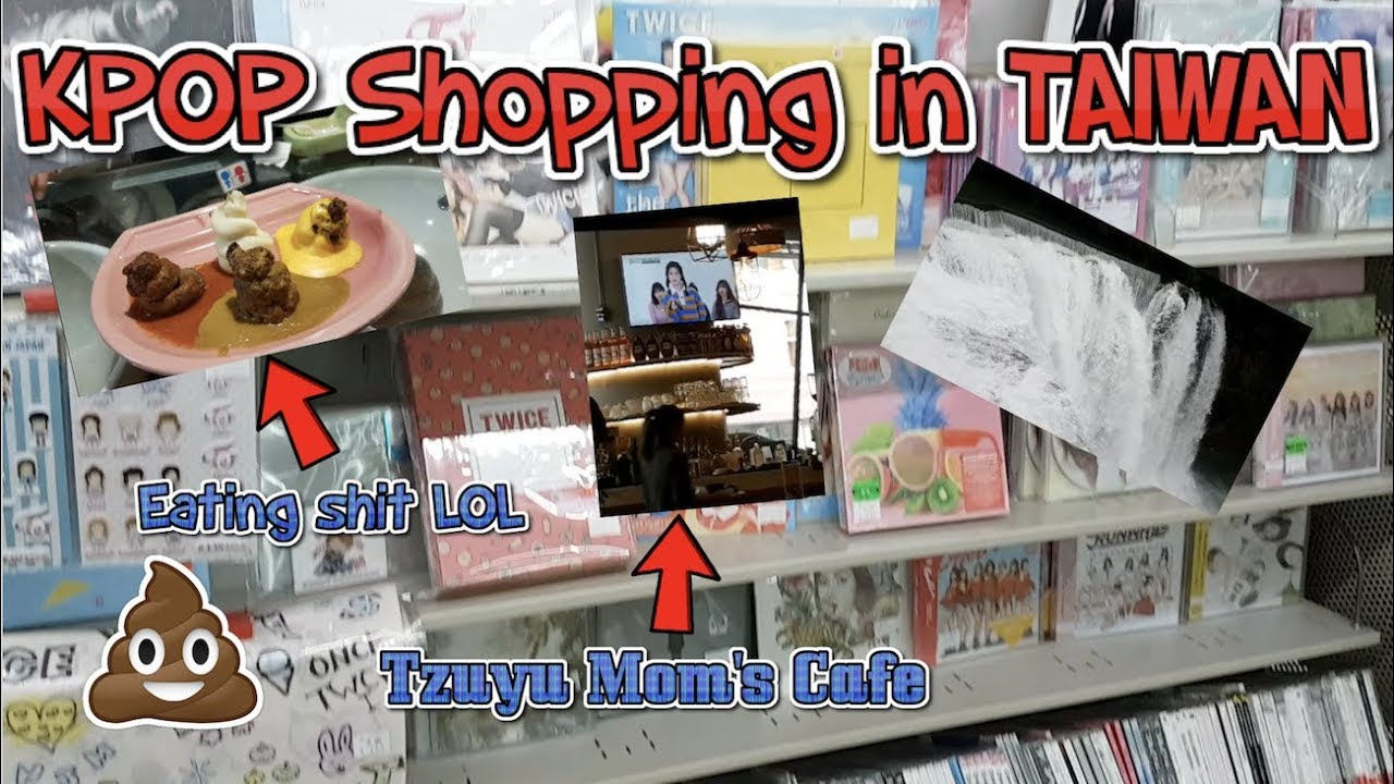 Kpop Shopping in Taiwan + More Tzuyu's Mom Café? | Taiwan VLOG Day 7-10