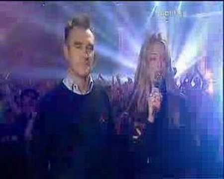 Morrissey and Cat Deely
