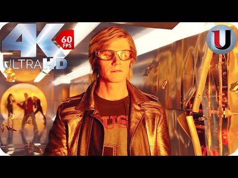 Quicksilver Saves Everyone In Mansion - X-Men Apocalypse -  MOVIE CLIP (4K)