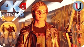 Quicksilver Saves Everyone In Mansion - X-Men Apocalypse -  MOVIE CLIP (4K)