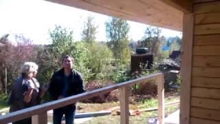 видео Строительство деревянных домов и каркасные дома – выбирайте лучшее