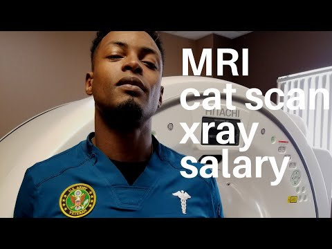 X-Ray, Cat Scan, & MRI Salary