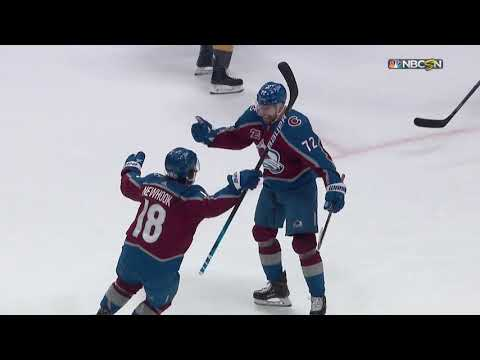 Colorado Avalanche lose third-period lead, then Game 5 in overtime ...