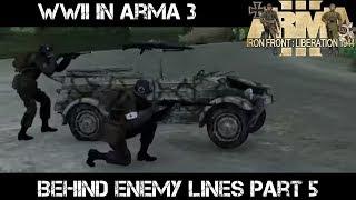 ArmA 3 WWII Gameplay - Behind Enemy Lines part 5 - Liru as Zeus
