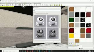 Create photo-realistic renders with Tilelook - how to set materials, lights, resolution