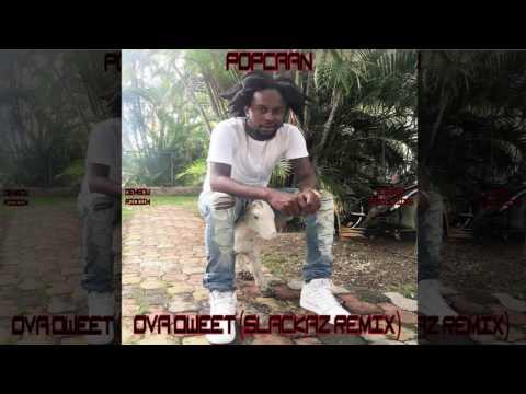 Popcaan - Ova Dweet [Dem Bow Riddim] (Clean) (Official Audio Dancehall 2016) {Slackaz Remix}