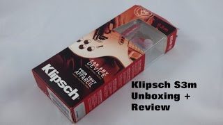 Video Klipsch S3m Earbuds Unboxing and Brief Review download MP3, 3GP, MP4, WEBM, AVI, FLV Juli 2018