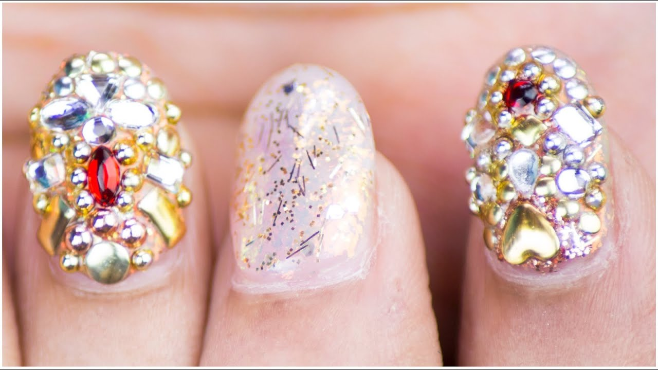 Jewel Nail Art Design Sonal Sagaraya Chippernails Youtube