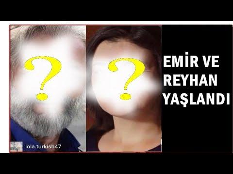 Yemin dizisi Emir ve Reyhanın Yaşlanmış hallerini gördünüz mü?