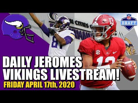 DAILY Minnesota Vikings Jerome Livesteam! | Friday, April 17th