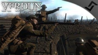 US Marines & German MGunner - Verdun 1914-1918 - PvP Multiplayer Gameplay 1440p 60 FPS