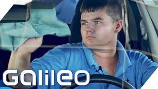 Hier arbeiten nur Autisten - Sind sie die besseren Autowäscher? | Galileo | ProSieben
