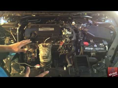 HONDA ACCORD 2013+ UNDER THE HOOD TUTORIAL