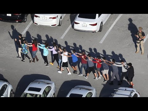'This is a life-changing event' – student on Florida shooting