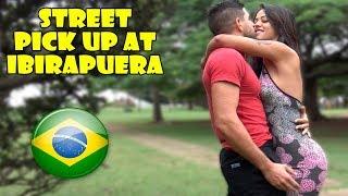 Kissing a Brazilian Fitness Model Prank!