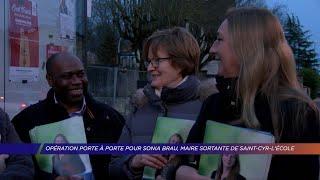 Yvelines | Opération porte à porte pour Sonia Brau, maire sortante de Saint-Cyr-L'École
