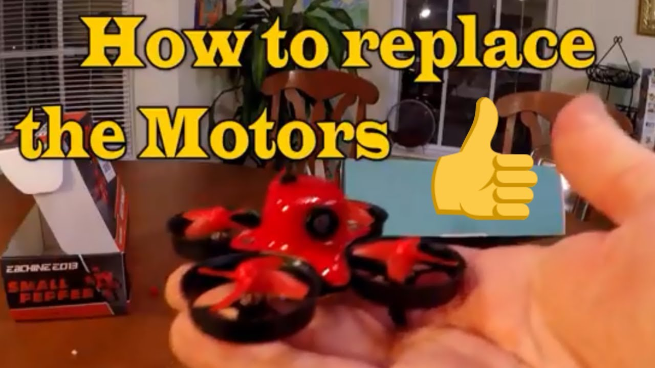 How to replace motors on eachine e013 tiny whoop fpv drone for Lumenier tiny whoop motors