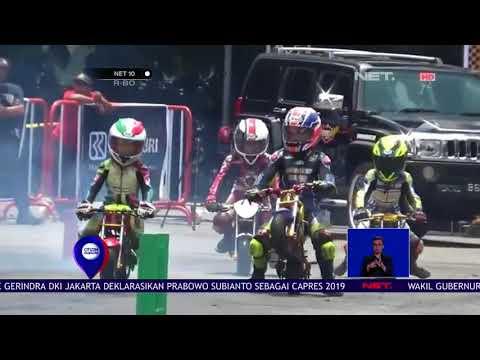 Aksi Bikers Cilik Di Ajang Mini GP  NET 10