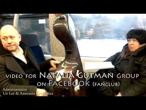 Exclusive video for Natalia Gutman group on Facebook (fanclub)