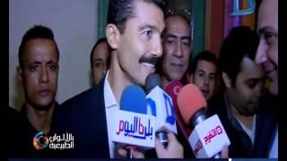 خالد النبوى يكشف لكاميرا