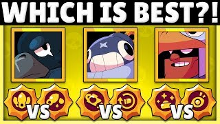How Good are Crow's, Tick's, and Bo's Star Powers?! | Star Power Tier List