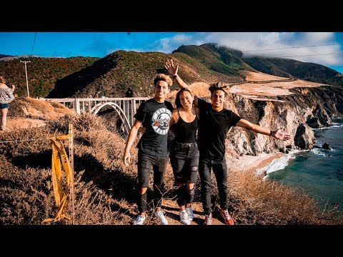 ROAD TRIP DISASTER!! (Santa Cruz / Big Sur) | VLOG