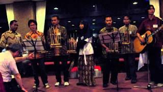 PPI Todai - Angklung performance (Bengawan Solo)