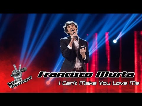 Francisco Murta - I can't make you love me (Bon Iver) | Gala Final | The Voice Portugal