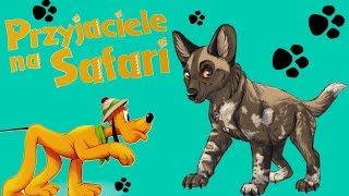 Przyjaciele na safari #50 • Disney • Likaon Barnaba • Encyklopedia zwierząt z zabawkami