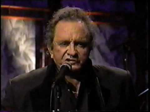 Johnny Cash with Marty Stuart sings Rusty Cage