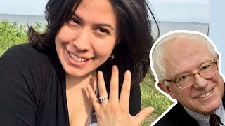 Bernie Sanders HELPED A GUY PROPOSE? | What's Trending Now