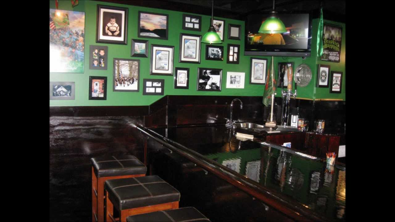 My Basement Irish Pub. Basement Bar. Man Cave. Build Your Own Home Bar    YouTube