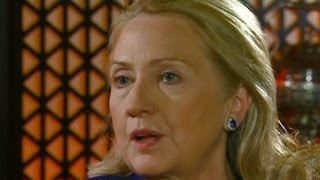 CBS Evening News with Scott Pelley - Sec. Clinton: U.S. reluctant to arm Syrian resistance