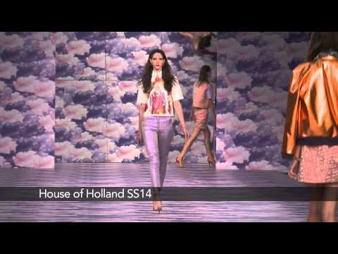 House of Holland London Fashion Week show: House of Holland SS14 Collection