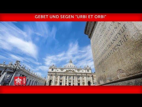 Papst Franziskus- Andacht 2020-03-27