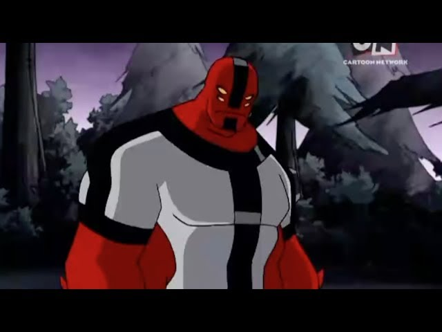 Ben 10 - All Four Arms Transformation