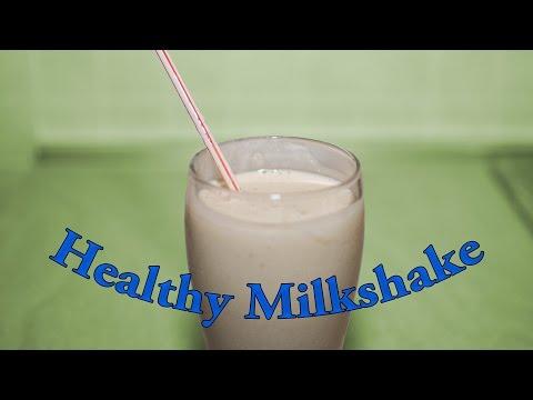 Quick & Tasty Milkshake Recipe without Ice Cream - Dessert Recipe # 3