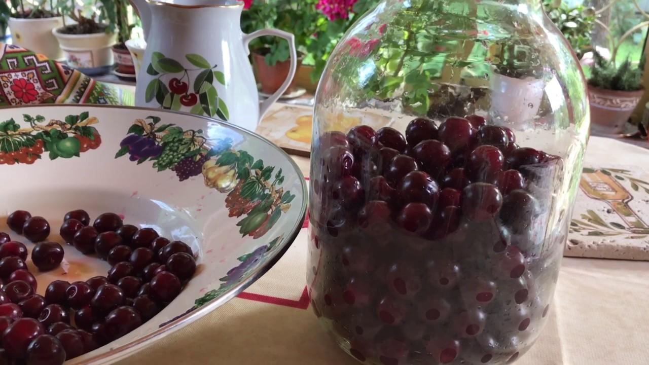 Рецепт наливки на ягодах