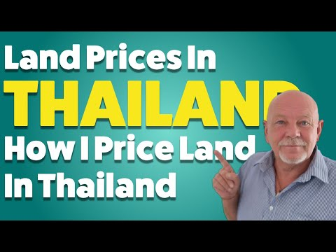 How I Price Land In Thailand?