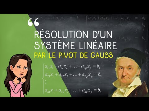 Résolution D'un Système Linéaire Par Le Pivot De Gauss