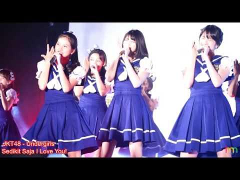 JKT48 (Undergirls) - Sedikit Saja I Love You (Hikaeme I Love You) @ HS So Long 20170513