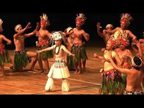 Rarotonga's Te Maeva Nui 2013 - Mangaia Kapa Rima