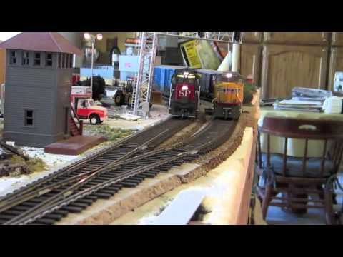 HO Scale Southern Pacific Model Railroad