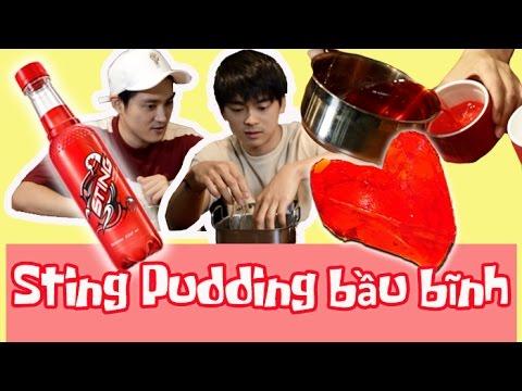 [HQO]Làm pudding từ nước ngọt Sting sao?? 스팅으로 푸딩을 만든다고??