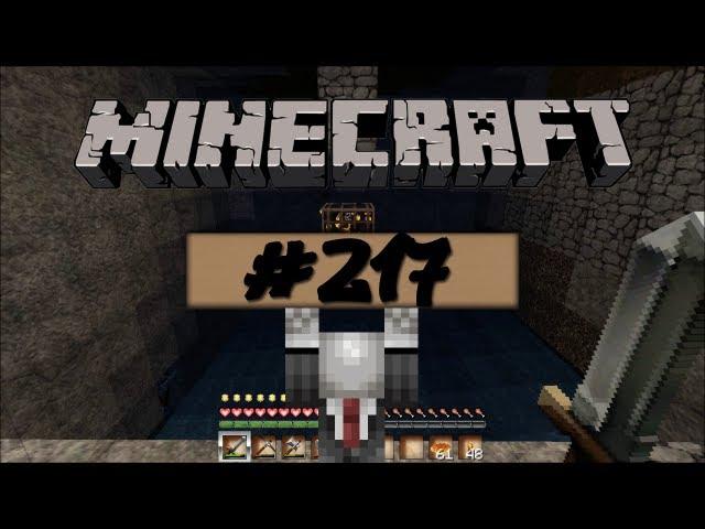 Lets Play Minecraft - XP farmen und neue Steinwände #217