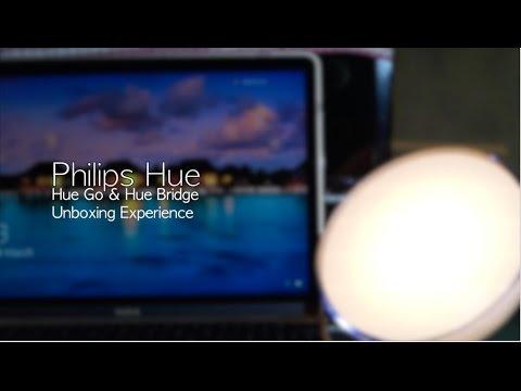 Philips Hue Go & Hue Bridge Unboxing